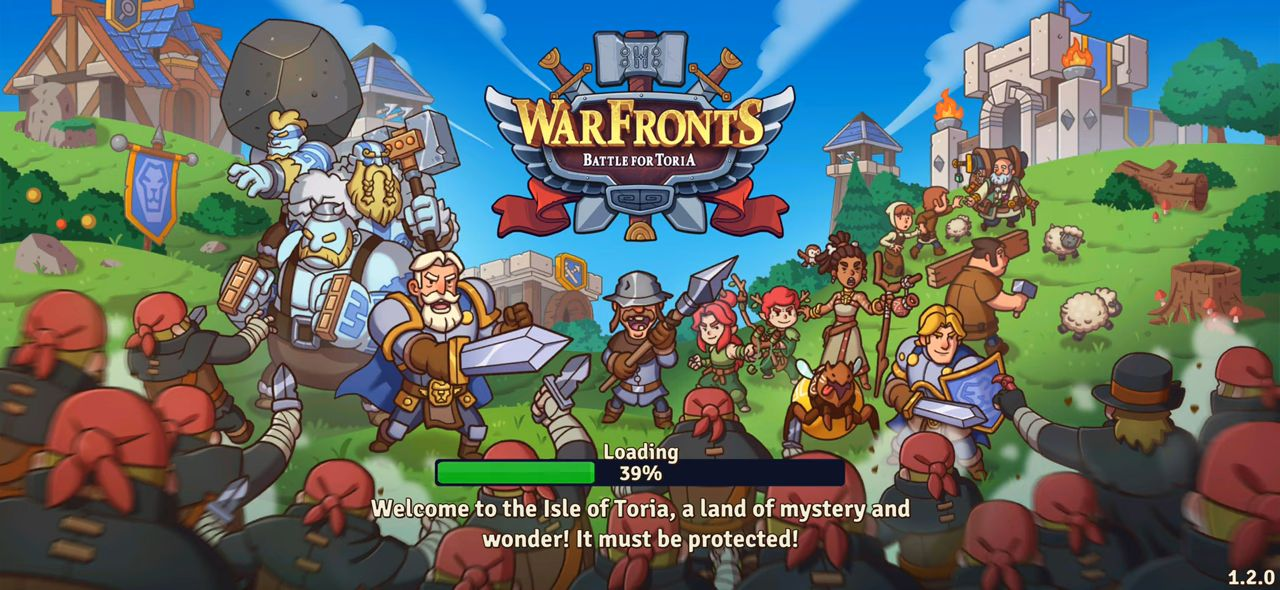 Warfronts: Battle for Toria! スクリーンショット1