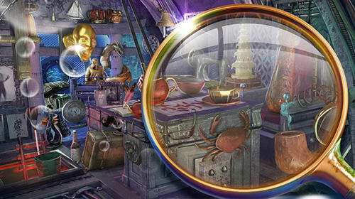 Hidden objects: Submarine monster. Seek and find für Android
