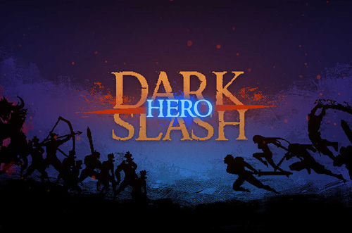 logo Dark Slash: Held