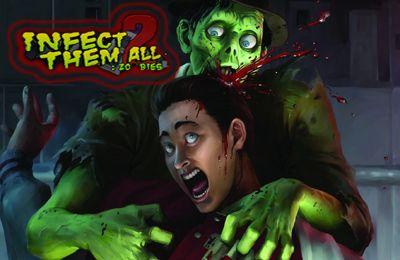 логотип Заразить их всех: Зомби 2
