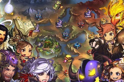 Super villain war: Lost heroes Screenshot