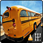 Real manual bus simulator 3D icon