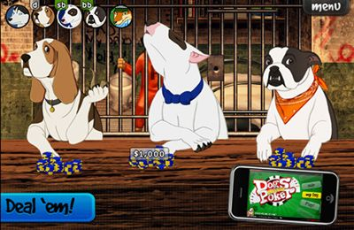 Dogs Playing Poker for iPhone