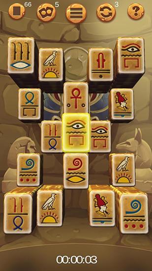 Double-sided mahjong Cleopatra captura de tela 1