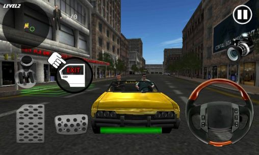 Crazy taxi simulator capture d'écran 1