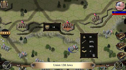 Strategie Civil war: 1862 für das Smartphone