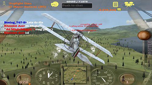 Screenshot Dogfight Elite auf dem iPhone