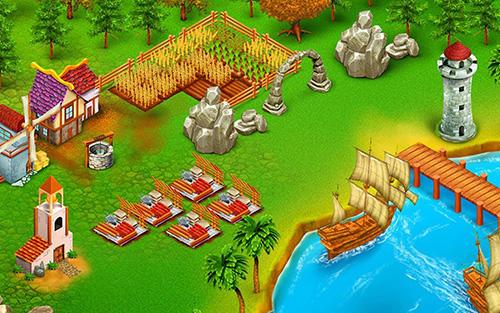 Princess kingdom city builder captura de tela 1