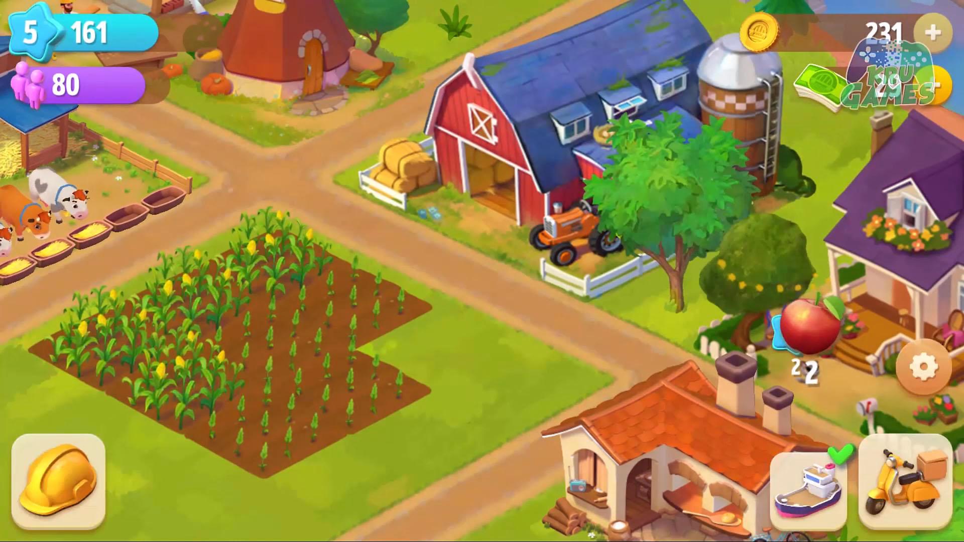 Riverside: Farm and City screenshot 1
