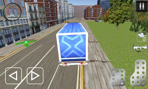 Euro truck career 2016 для Android