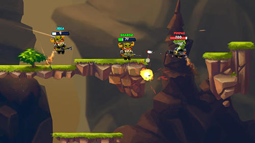 Brawl of heroes: Online 2D shooter for Android