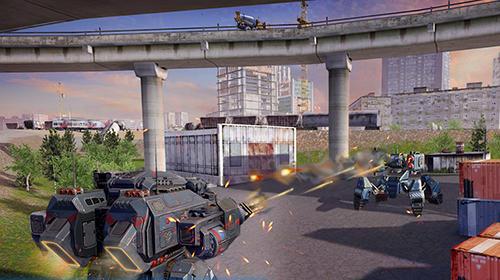 Robot warfare: Battle mechs Screenshot