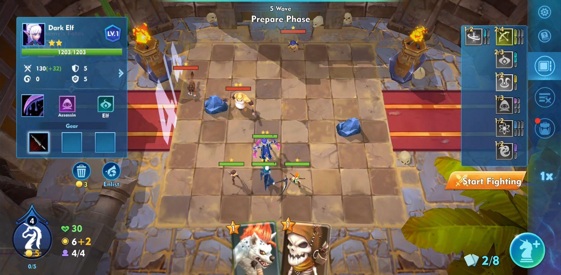Fantasy Hero Tactics スクリーンショット1