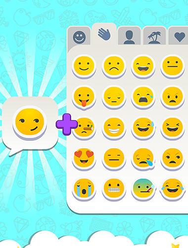 Rätselspiele Match the emoji: Combine and discover new emojis! auf Deutsch