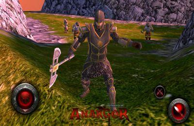 Screenshot Welt von Anargor 3D RPG auf dem iPhone