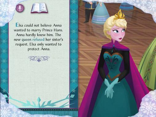 Disney. Frozen: Storybook deluxe Screenshot