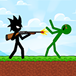 Stickman zombie shooter: Epic stickman games icon