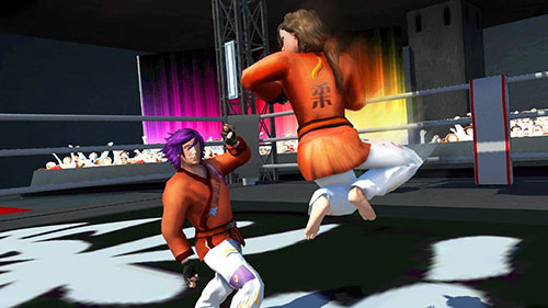Karate fighting tiger 3D 2 pour Android