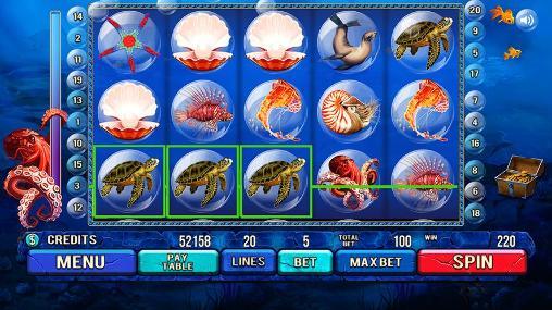 Under the sea: Slot machine für Android