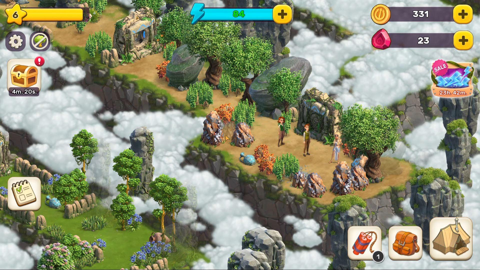 Atlantis Odyssey captura de tela 1