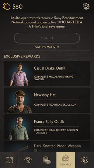 Uncharted: Fortune hunter скриншот 1