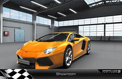 Screenshot Rennwagen Wettbewerb 2 auf dem iPhone