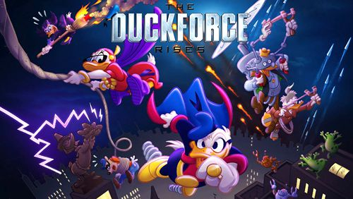 logo The duckforce rises