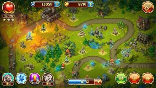 Screenshot Spielzeug Verteidigung 3: Phantasie auf dem iPhone