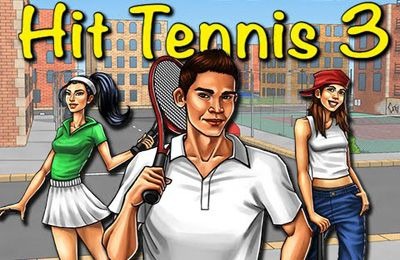 Screenshot Tennisspiel 3 auf dem iPhone