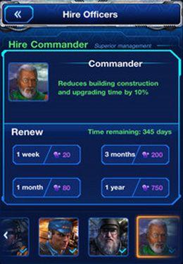 Imperio de galaxias: base en la Luna para iPhone