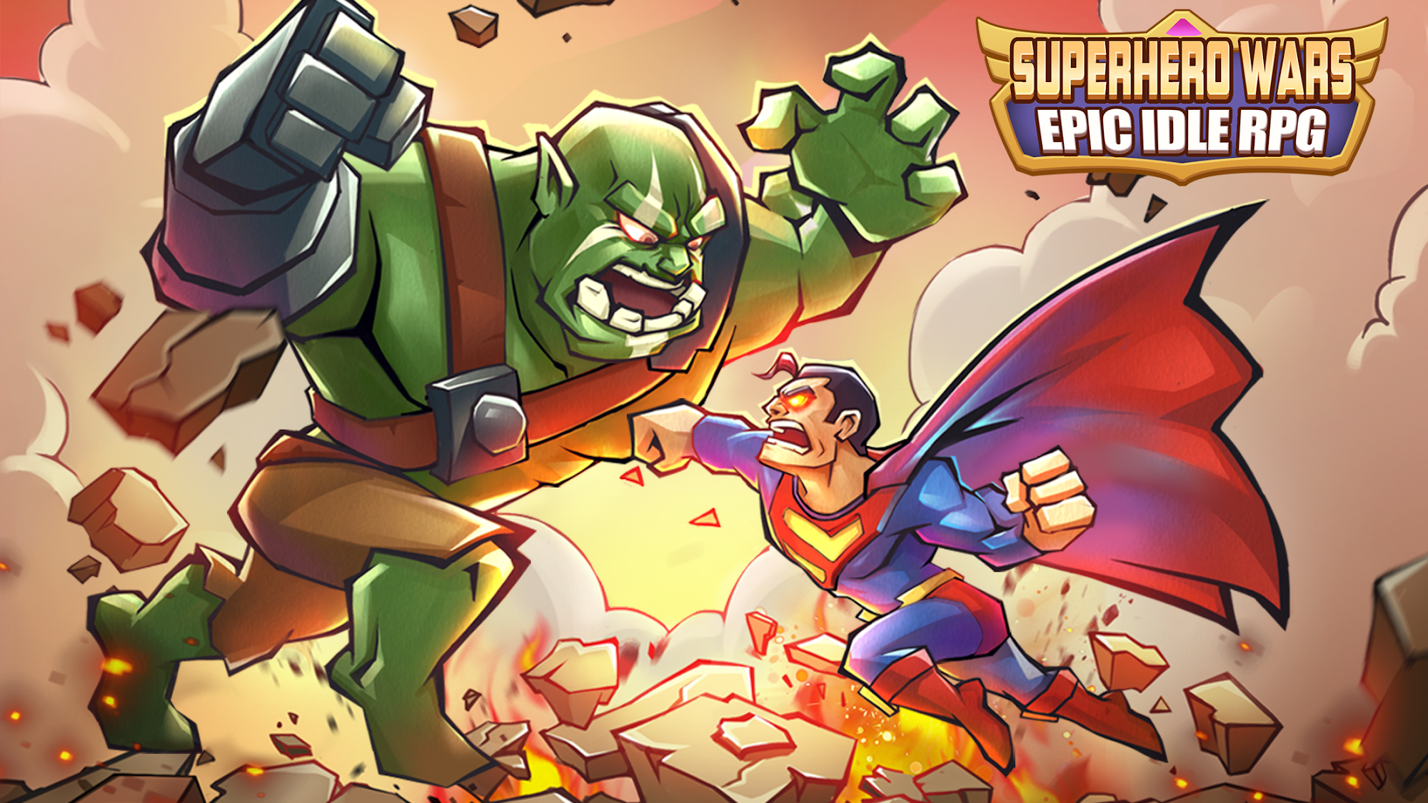 Superhero Wars: Epic Idle RPG - Legend Battle скріншот 1