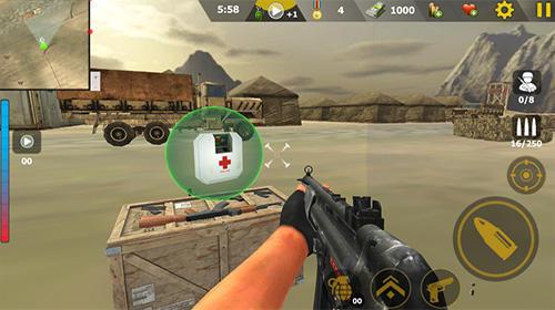 Commando sniper attack: Modern gun shooting war Screenshot