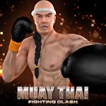 Muay thai: Fighting clash Symbol