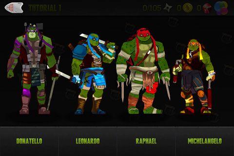 Teenage mutant ninja turtles for iPhone