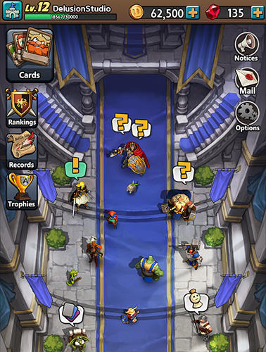 Castle burn: The crown league für Android