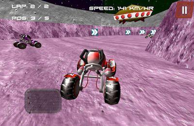 Mond-Buggy 3D ( Rennspiel ) für iPhone
