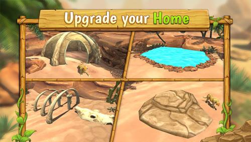Cheetah family sim скриншот 1
