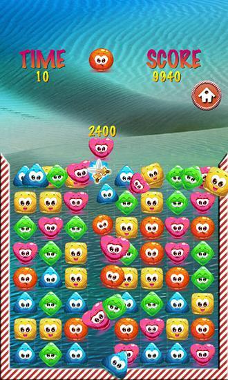 3 Gewinnt Jelly smash: Logical game auf Deutsch
