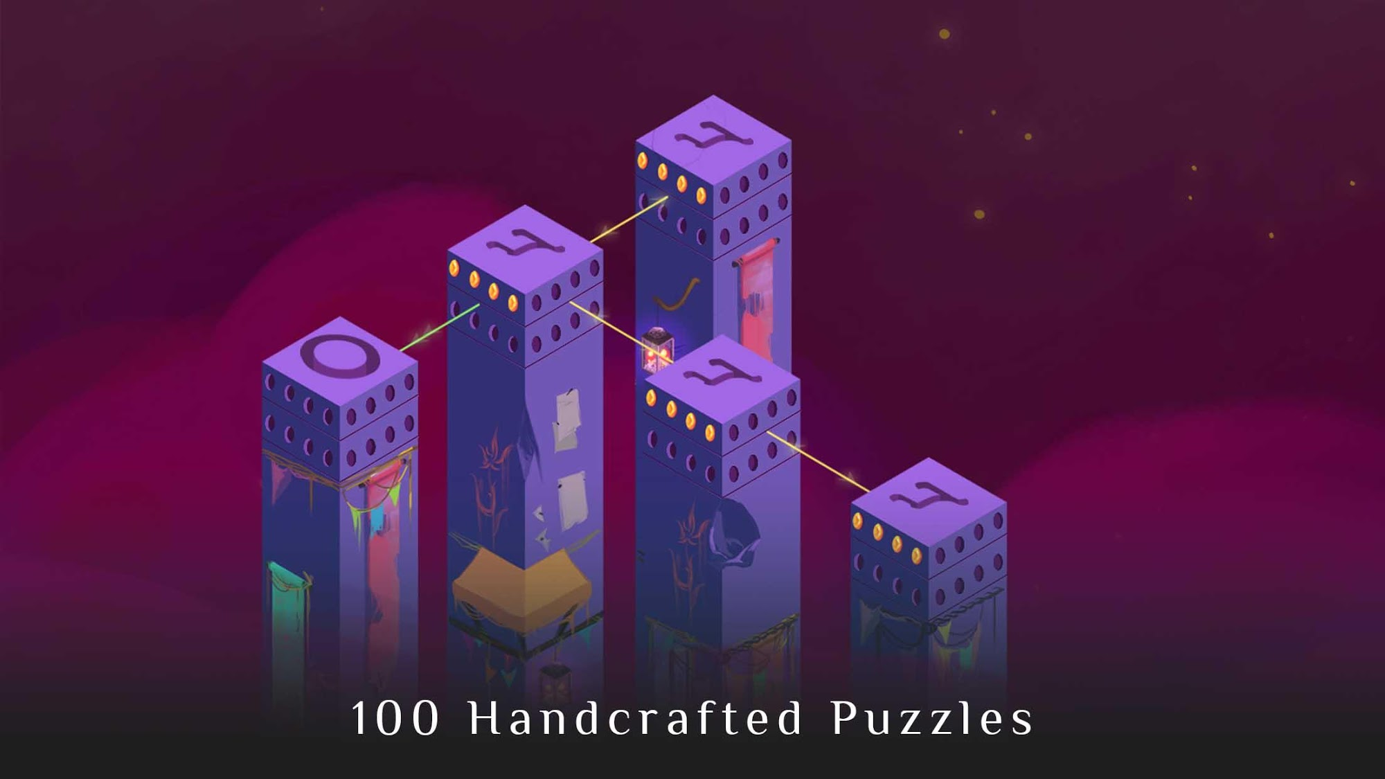 Mystic Pillars: A Story Based Puzzle Game screenshot 1
