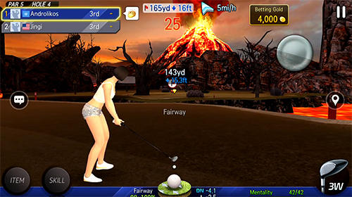 Shot online golf: World championship for iPhone for free