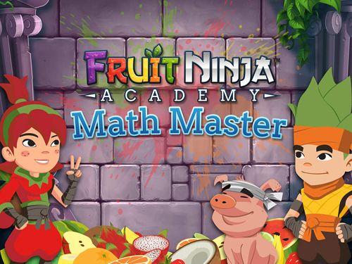 logo Frucht Ninja Akademie: Mathe Meister