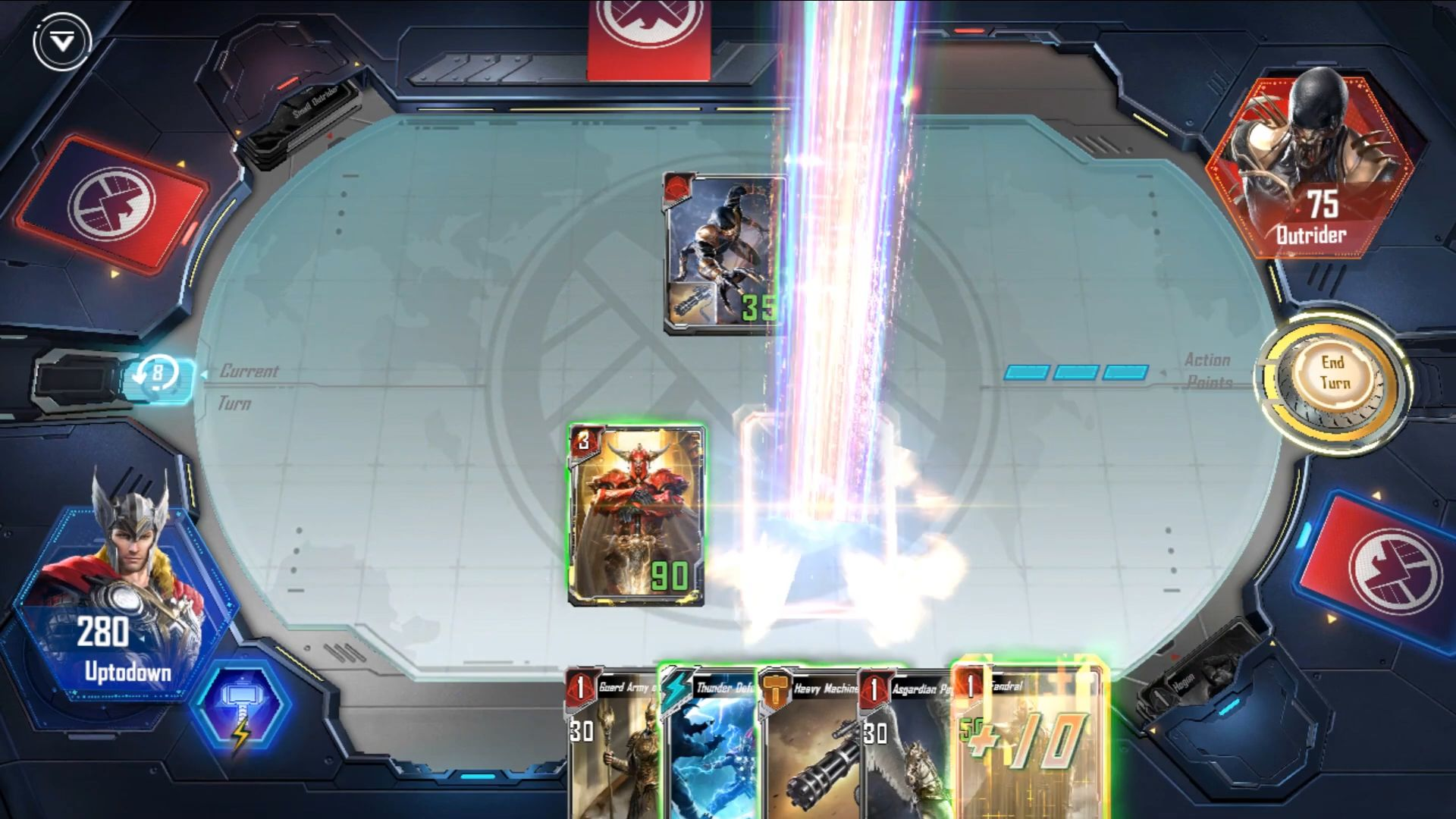 MARVEL Duel para Android
