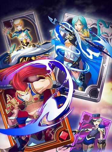 Puzzle fantasy battles: Match 3 adventure games für Android