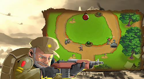 Tower defense: Clash of WW2 для Android