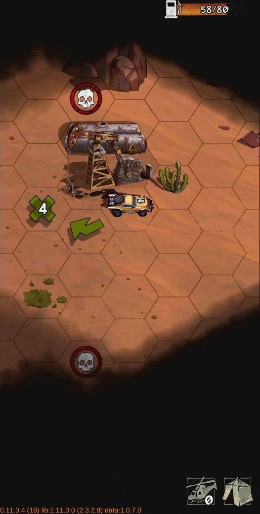 Wasteland Punk - post apocalypse open world RPG captura de pantalla 1