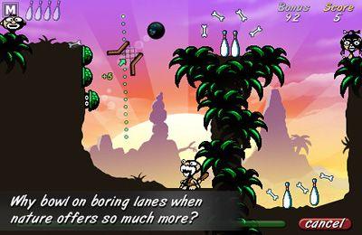 Скріншот Cave Bowling на iPhone