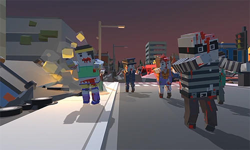 ZIC: Zombies in city. Survival pour Android