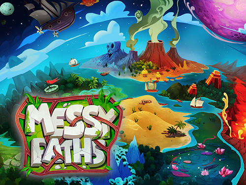 Messy paths Screenshot