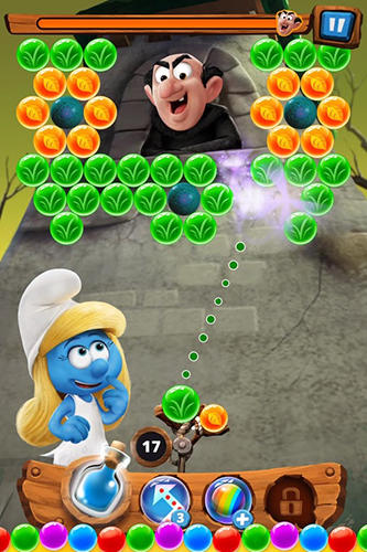 Smurfs bubble story für Android