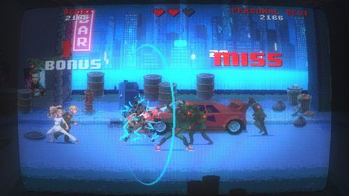 Arcade-Spiele: Lade Kung Fury: Straßenwut auf dein Handy herunter